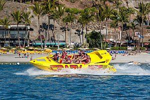 Speedboot fahren auf Gran Canaria