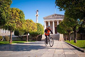 Stadtführung Athen mit dem Rad