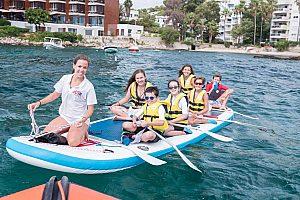 XL Stand Up Paddle Board auf Mallorca