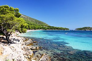 Strand Formentor Bootsfahrt