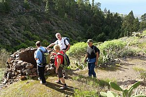 Aripe-Wanderung auf Teneriffa
