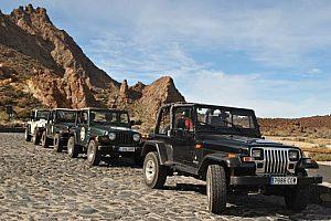 Jeeep Safari auf Teneriffa