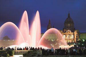 Wasserspiele Barcelona Magischer Brunnen