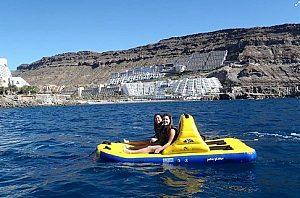 Tretboot mieten auf Gran Canaria am Strand