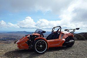 Aufregende Trike Roadster Tour auf Fuerteventura mit Guide ab Caleta de Fuste