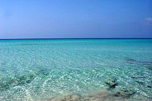 kristallklares Wasser Formentera