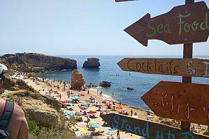 Tuk Tuk Albufeira Praia de Sao Rafael Strand