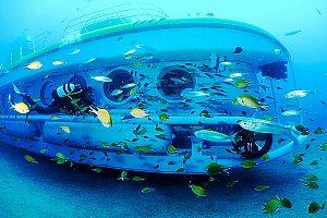 Süden Teneriffas mit U-Boot