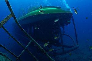 Fahrt im U-Boot auf Gran Canaria