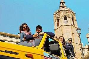 Jeep Safari City Tour durch Valencia mit Cabrio-Jeep & Guide