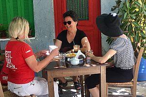 Verkostung bei Stadttour Heraklion