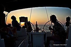 Exklusiver Sonnenuntergangs-Segeltörn im Südosten von Mallorca