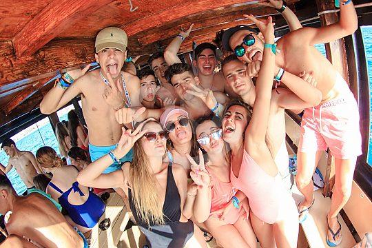Partyboot Mallorca Partygäste