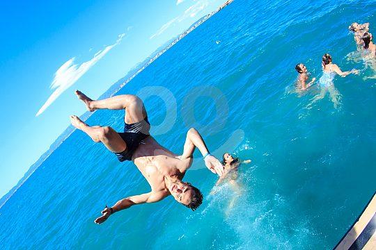 Partyboot Mallorca Schweimmen und schnorcheln