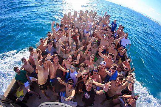 Partyboot Mallorca Eindruck der Stimmung