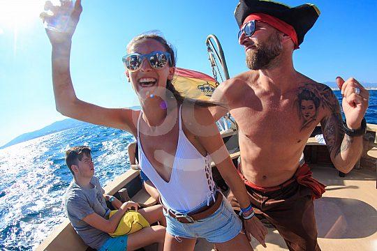 Partyboot Mallorca Feiern