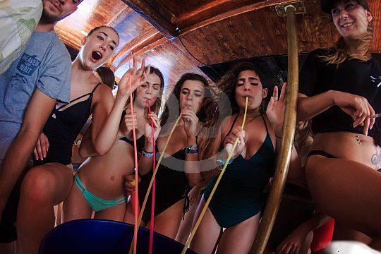 Partyboot Mallorca Trinkspiele