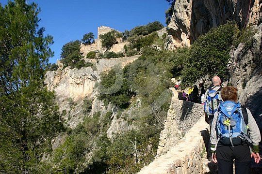 caminata a Alaró con guía