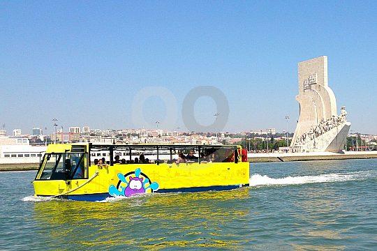 Visita de la ciudad de Lisboa en autobús anfibio