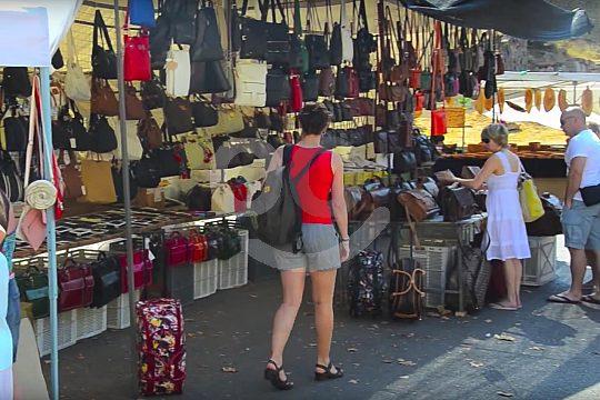 en el mercado de Andratx