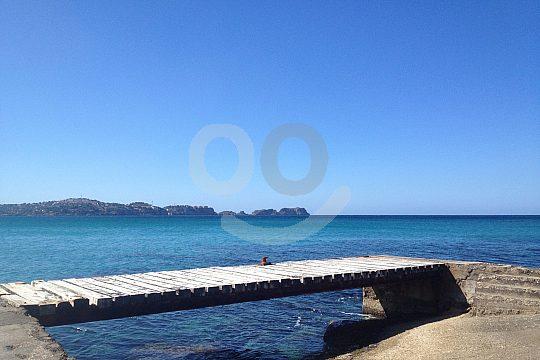 Muelle de recogida en Mallorca