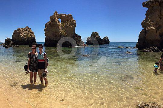 Arrifes Beach Albufeira rocas