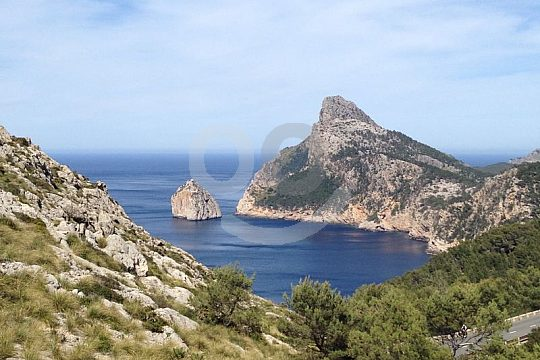 Mirador en Formentor