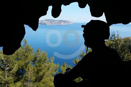 herrliche Aussicht beim Trekking auf Mallorca