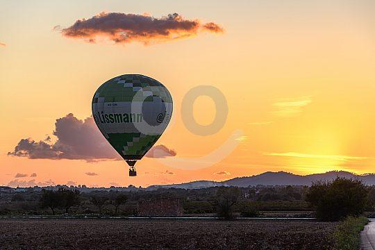 Ballon fliegen Mallorca