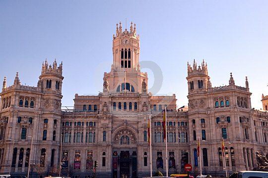Almudena catedral en Madrid