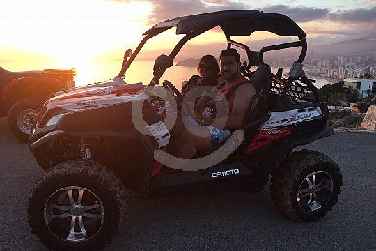 Buggy Tour zum Sonnenuntergang