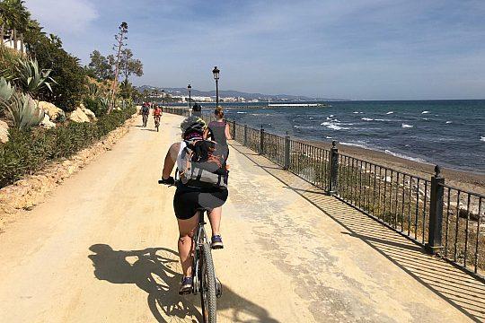 Excursión en bicicleta por Málaga