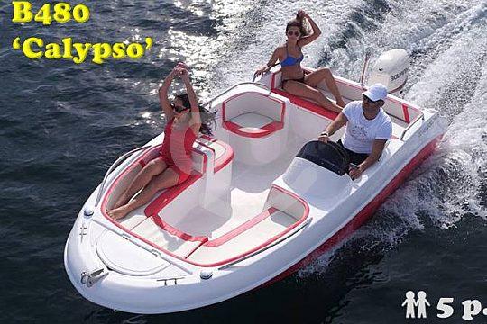 Auf Mallorca Motorboot Calypso mieten