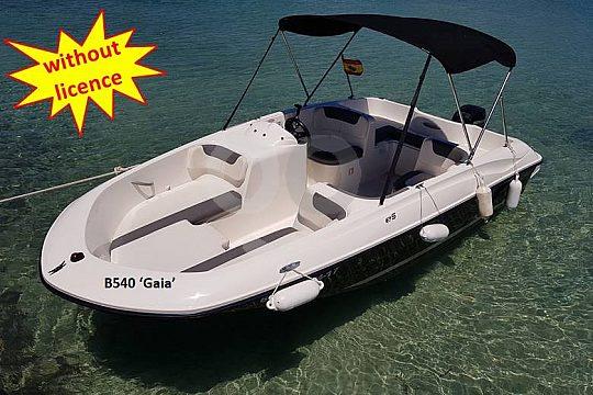 Schönes Boot mieten auf Mallorca