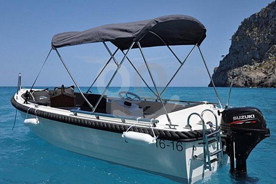 Mallorca Boot ohne Führerschein mieten