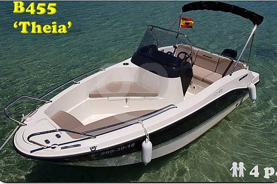Motorboot Theia auf Mallorca mieten