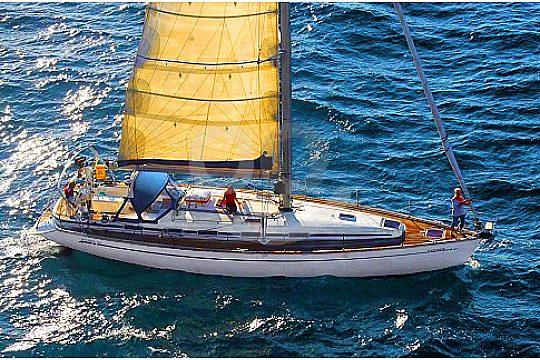 Mallorca velero desde el aire