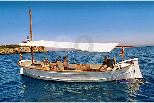 excursión en barco privado en Mallorca