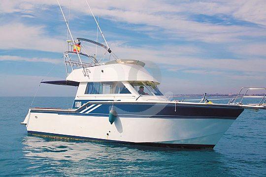 Excursión en barco privado a la isla Tabarca en la Costa Blanca