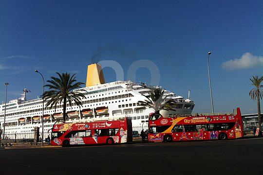 Kreuzfahrthafen in Cadiz