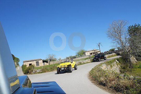 excursión de aventura en mini-jeep en Mallorca