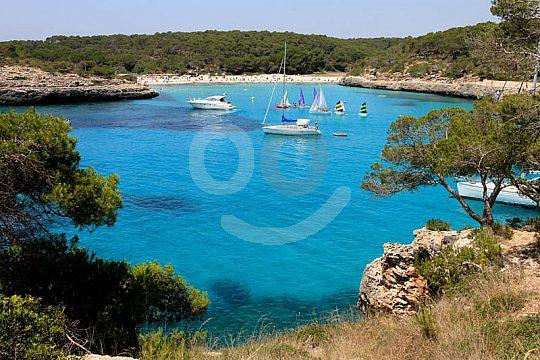 Badestopp Cala Mondrago Mallorca