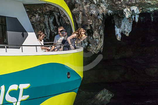 cueva marítima en Mallorca