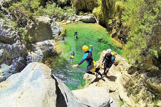 Schluchteln am Rio Verde