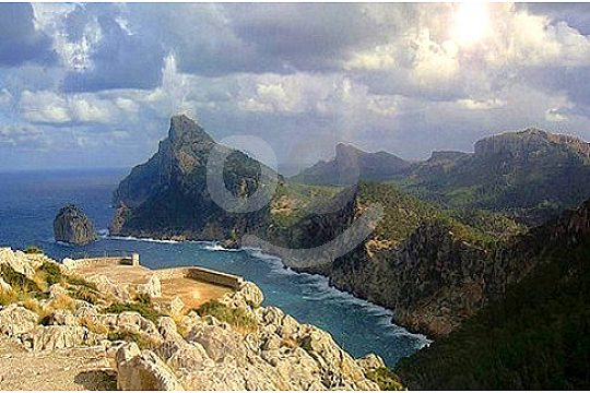 Vistas panoramica en Formentor excursión