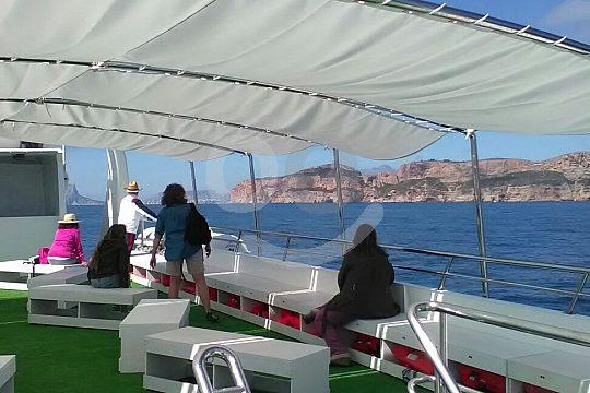 vista desde Catamarán Costa Blanca