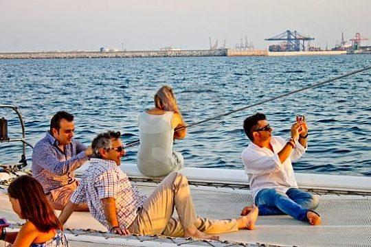 excursión en barco en Malaga por atardecer