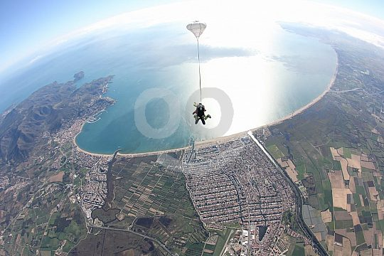 Costa Brava salto en tandem