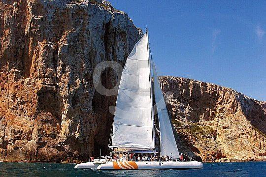 explora la Costa Blanca en catamarán
