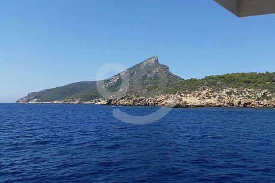 La isla desde el barco